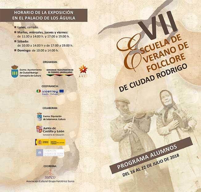INAUGURACIÓN VII ESCUELA DE VERANO DE FOLCLORE 2018