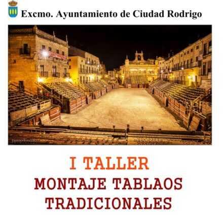 Taller sobre Montaje Tradicional de Tablados