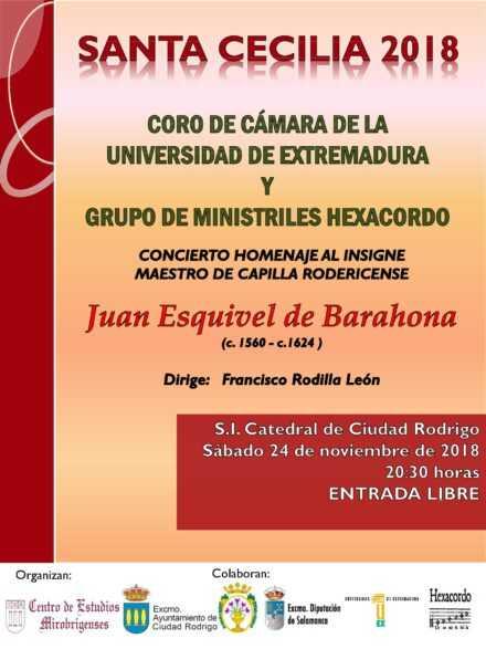 Concierto-Homenaje a Juan Esquivel de Barahona