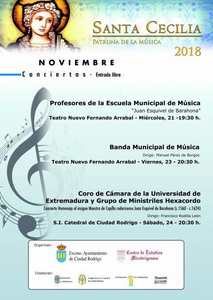 Conciertos de Santa Cecilia 2018