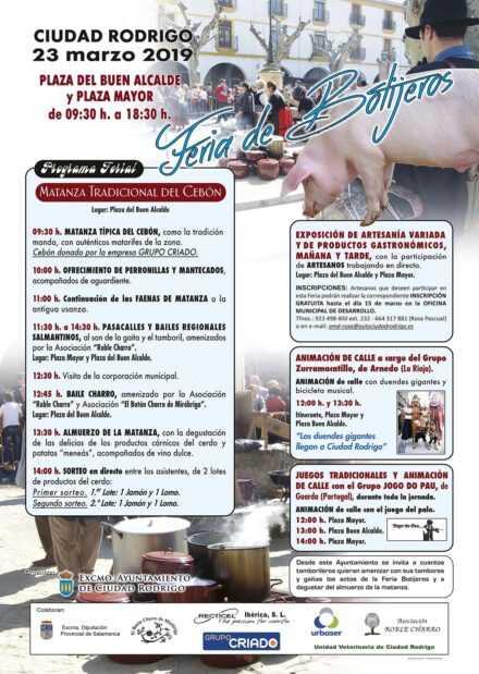 Feria de Botijeros. 23 de marzo de 2019