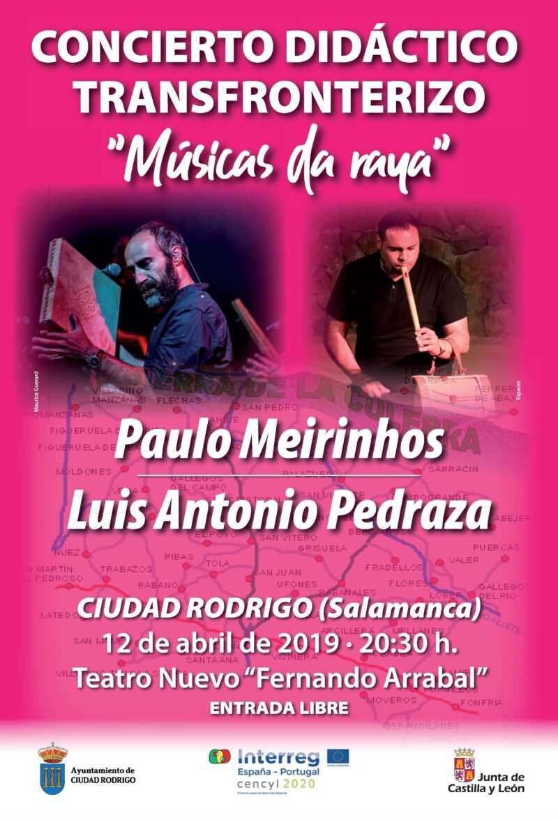 """Concierto didáctico transfronterizo """"Músicas da Raya"""""""