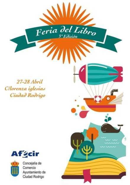 Tercera edición de la Feria del Libro de Ciudad Rodrigo. Año 2019