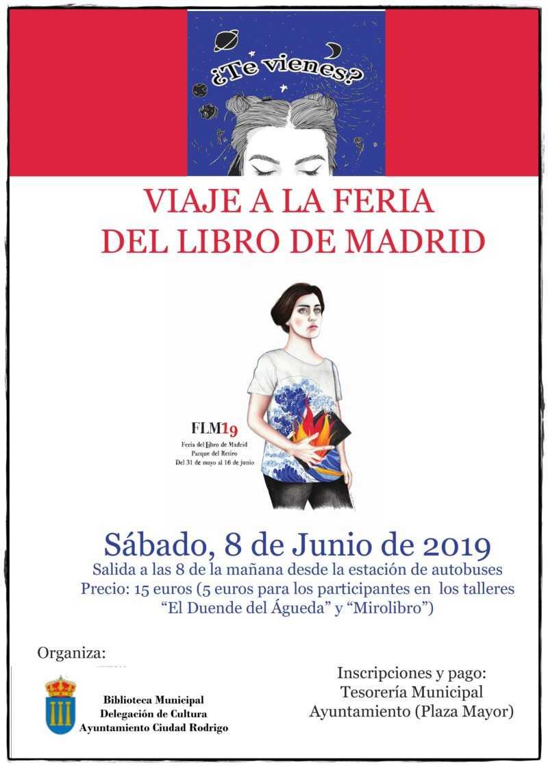 Viaje a la Feria del Libro de Madrid 2019