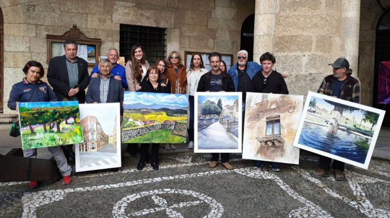 Premiados del XXIII Concurso de Pintura al Aire Libre