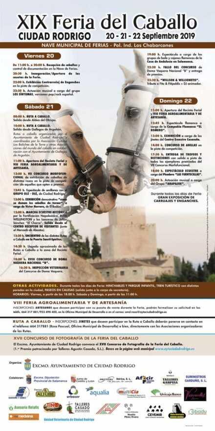 XIX Feria del Caballo. Ciudad Rodrigo
