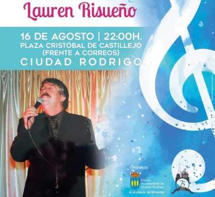 Concierto de Lauren Risueño