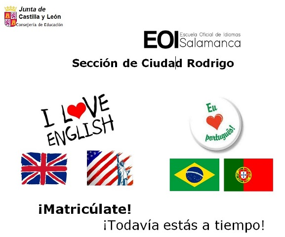 Escuela Oficial de Idiomas. Curso 2019-2020
