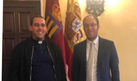 Reunión del Alcalde con el Rector del Seminario civitatense