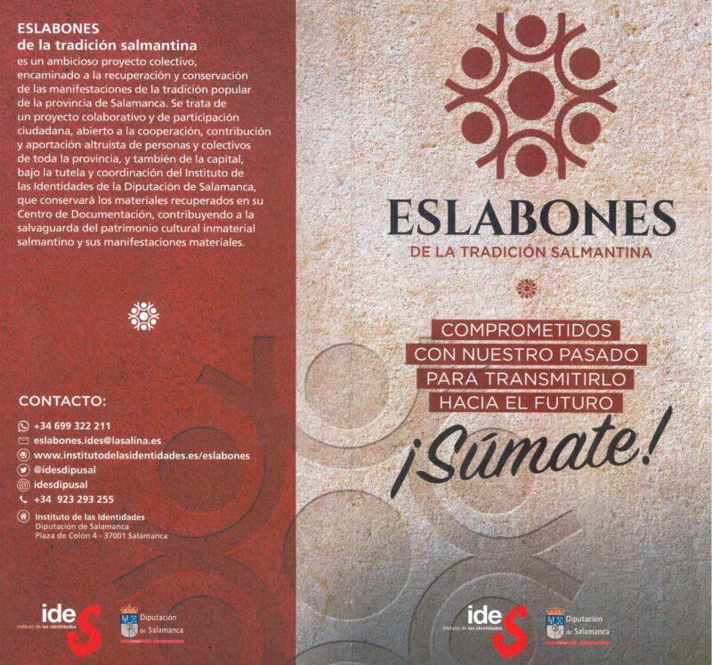 """Proyecto """"Eslabones de la Tradición Salmantina"""