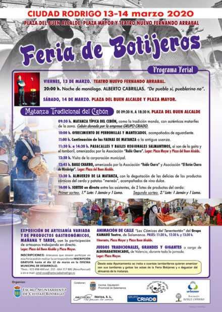 Feria de Botijeros 14 de marzo de 2020