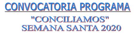 Programa Conciliamos Semana SAnta 2020