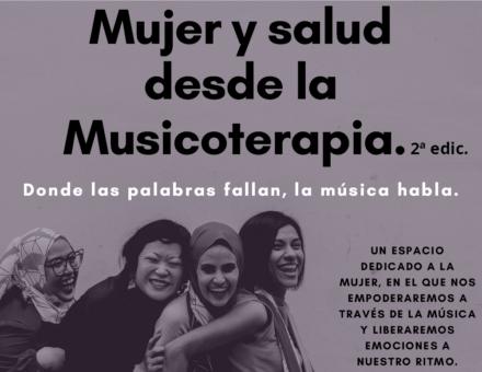 """Taller """"Mujer y salud desde la Musicoterapia"""""""