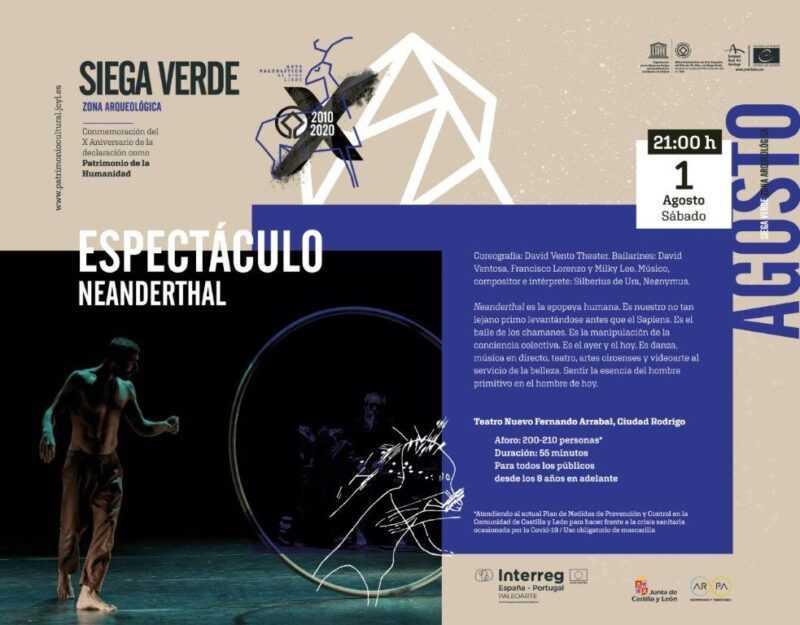 Espectáculo Neanderthal en el Teatro Nuevo Fernando Arrabal