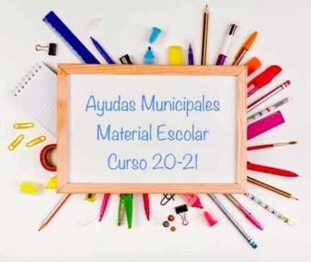 Ayudas para la adquisición de libros y material escolar. Curso 2020/2021