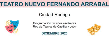 Programación Red de Teatro mes de diciembre: atención a los horarios