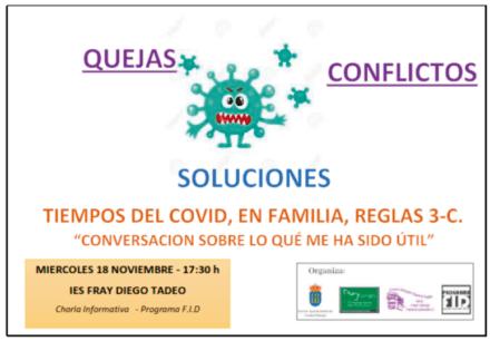 Charla del Programa FID sobre promoción de la convivencia, prevención de la violencia y apoyo a víctimas del acoso escolar