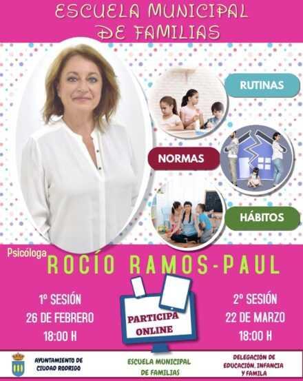 Escuela Municipal de Familias. Sesión de 26 de febrero de 2021