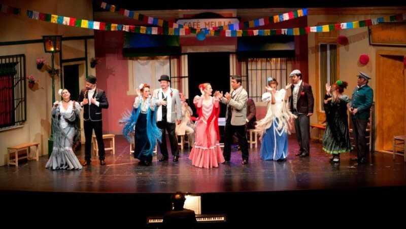 Zarzuela en el Teatro Nuevo Fernando Arrabal