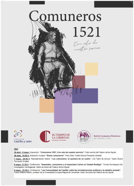 Actos culturales en Ciudad Rodrigo con motivo de los 500 años del movimiento comunero