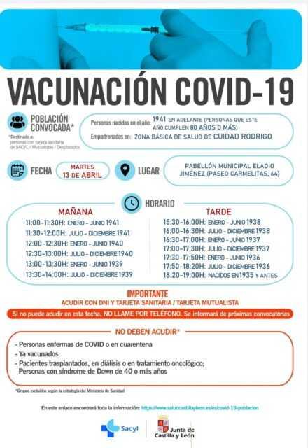 Vacunaciones generales