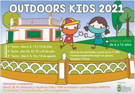 Actividades para la infancia al aire libre
