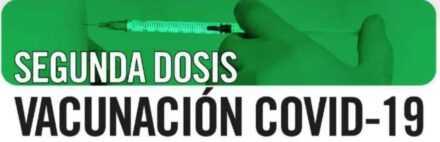 Vacunación 2ª dosis