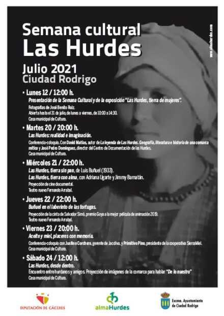 Semana Cultural Las Hurdes – Julio 2021 Ciudad Rodrigo