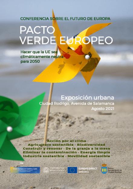 Exposición Pacto Verde Europeo: hacer que la UE sea climáticamente neutra para 2050