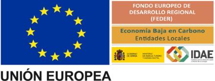 Programa Operativo FEDER: mejora de la eficiencia energética Alumbrado Público.