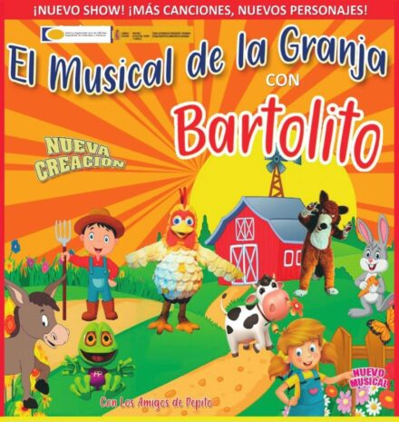 """La Granja de Bartolito"" – Teatro Nuevo Fernando Arrabal – 13 de Agosto – 22h."