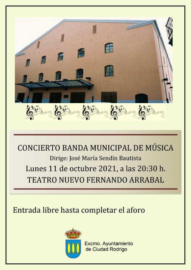 Concierto de la Banda Municipal de Música.